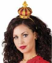 Feest tiara met een kroon