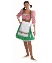 Feest tiroolse kleding voor vrouwen