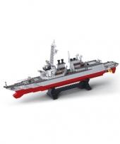 Feest torpedobootjager bouwsteentjes