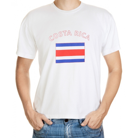 Feest unisex shirt costa rica