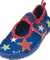 Feest uv waterschoenen blauw ster voor kinderen