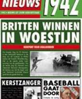 Feest verjaardag kaart met nieuws uit 1942
