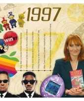 Feest verjaardagskaart 20 jaar met muziek uit 1998