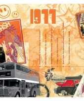 Feest verjaardagskaart 40 jaar met muziek uit 1978