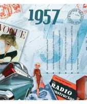 Feest verjaardagskaart 60 jaar met muziek uit 1958