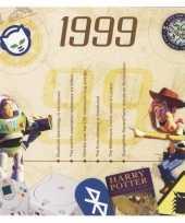 Feest verjaardagskaart met muziekhits uit 1999