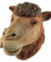 Feest verkleed masker kameel