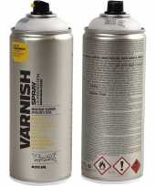 Feest vernis beschermlaag spray mat 400 ml