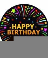 Feest viltjes met happy birthday opdruk