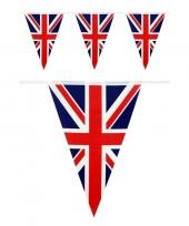 Feest vlaggenlijn engeland landen thema versiering 10 meter