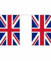 Feest vlaggenlijn groot brittannie 9 meter