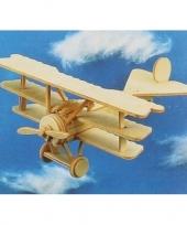 Feest vliegtuig bouwpakket fokker 401