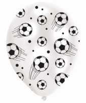 Feest voetbal thema decoratie ballonnen