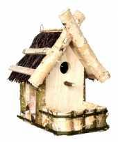 Feest vogelhuisje met balkon