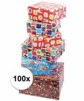 Feest voordelige inpakpapier sinterklaas 100x