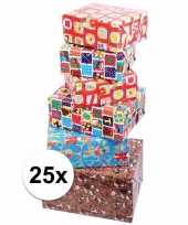 Feest voordelige inpakpapier sinterklaas 25x