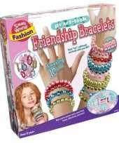 Feest vriendschap armbanden knutsel set