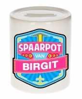 Feest vrolijke birgit spaarpotten voor kinderen