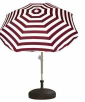 Feest vulbare parasol voet van plastic 10157261