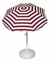 Feest vulbare parasol voet van plastic 10157264