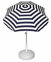 Feest vulbare parasol voet van plastic 10157272