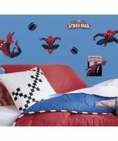 Feest wanddecoratie stickers spiderman