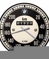 Feest wandklok bmw tachymeter 31 cm