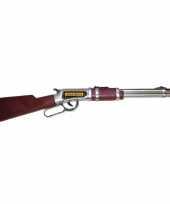 Feest western cowboy geweer 63 cm