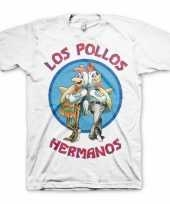 Feest wit los pollos hermanos t-shirt 10056776