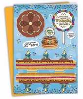 Feest xxl 3d taart kaart trouwdag