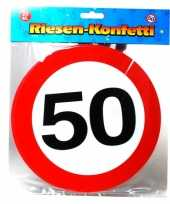 Feest xxl confetti 50 jaar