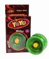 Feest yoyo in de kleur groen