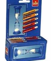 Feest zandlopers 1 minuut tijd