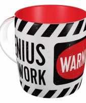 Feest zelfoverschattings collega kado koffiemok