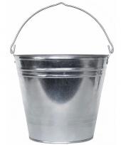 Feest zilveren drankemmer drankkoeler 15 liter van zink