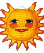 Feest zonnetjes lampionnen versiering