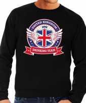 Feest zwarte engeland drinking team sweater heren