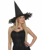 Feest zwarte halloween ketting