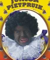 Feest zwarte pieten pruik kinderen