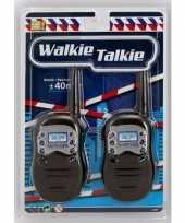 Feest zwarte walkie talkie voor kinderen