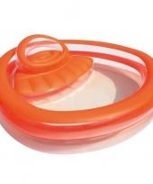 Feest zwembad met ziteiland 232x229x63cm