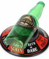 Feestartikel drankspelletje flesje draaien