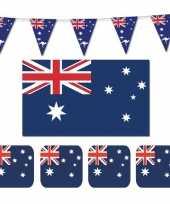 Feestartikelen australie versiering pakket 10114087