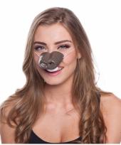 Feestartikelen paarden neus masker