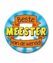 Feestartikelen xxl button beste meester