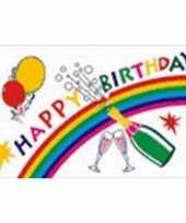 Feestvlag happy birthday