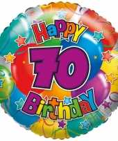 Folie ballon 70 jaar 35 cm