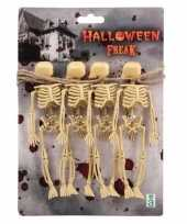 Halloween feestslinger skelet