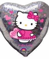 Hello kitty feest folie ballon 45 cm