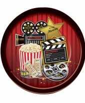 Hollywood feestbordjes 8 stuks